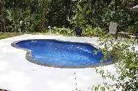 Crystal Cove Fiberglass Pool in Pinos Altos, NM